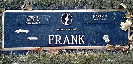 FRANK, JOHN L. - Black Hawk County, Iowa | JOHN L. FRANK