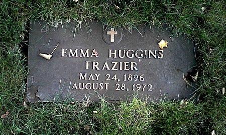 HUGGINS FRAZIER, EMMA - Black Hawk County, Iowa | EMMA HUGGINS FRAZIER