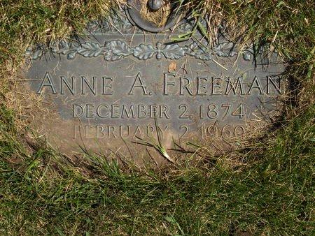 FREEMAN, ANNE - Black Hawk County, Iowa | ANNE FREEMAN