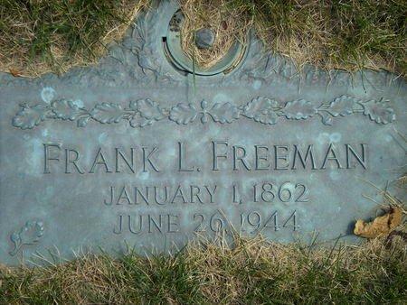 FREEMAN, FRANK - Black Hawk County, Iowa | FRANK FREEMAN