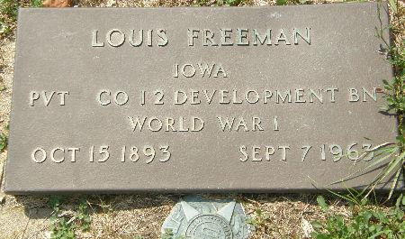 FREEMAN, LOUIS - Black Hawk County, Iowa | LOUIS FREEMAN