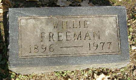 FREEMAN, WILLIE - Black Hawk County, Iowa | WILLIE FREEMAN