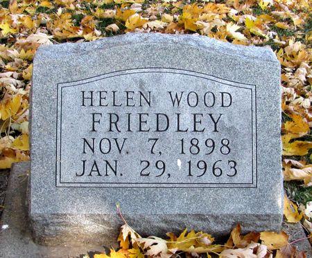 FRIEDLEY, HELEN - Black Hawk County, Iowa | HELEN FRIEDLEY
