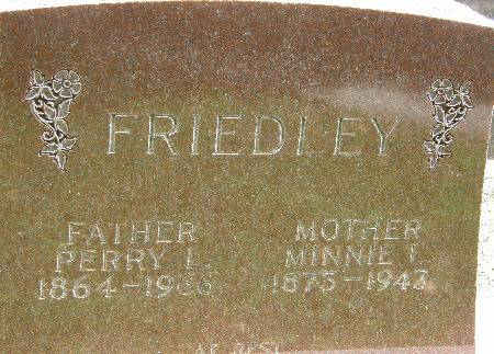 FRIEDLEY, PERRY L. - Black Hawk County, Iowa | PERRY L. FRIEDLEY