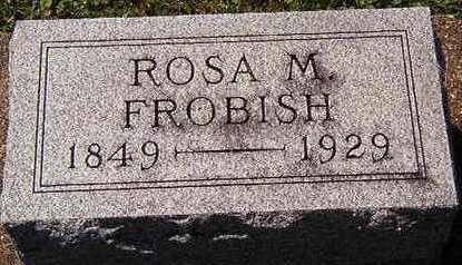 FROBISH, ROSA M. - Black Hawk County, Iowa | ROSA M. FROBISH