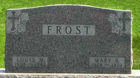 FROST, LOUIS M. - Black Hawk County, Iowa   LOUIS M. FROST