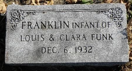 FUNK, FRANKLIN - Black Hawk County, Iowa | FRANKLIN FUNK