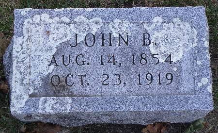 FUNK, JOHN B. - Black Hawk County, Iowa   JOHN B. FUNK