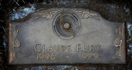 FURY, CLAUDE - Black Hawk County, Iowa   CLAUDE FURY