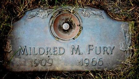 FOSTER FURY, MILDRED M. - Black Hawk County, Iowa | MILDRED M. FOSTER FURY