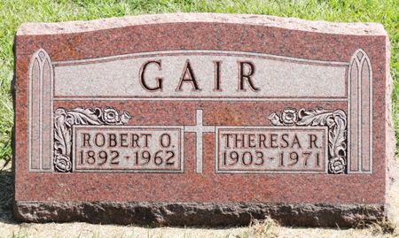 GAIR, THERESA R. - Black Hawk County, Iowa | THERESA R. GAIR