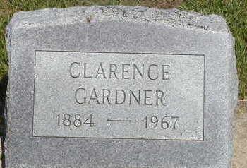 GARDNER, CLARENCE - Black Hawk County, Iowa | CLARENCE GARDNER