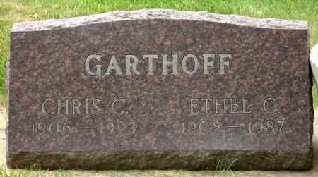 GARTHOFF, ETHEL C. - Black Hawk County, Iowa | ETHEL C. GARTHOFF