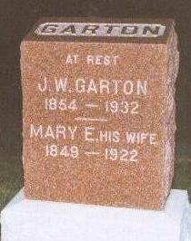 GARTON, J. W - Black Hawk County, Iowa | J. W GARTON