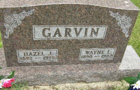 GARVIN, HAZEL J. - Black Hawk County, Iowa | HAZEL J. GARVIN