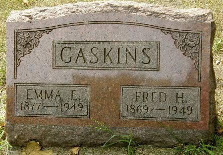 GASKINS, EMMA E. - Black Hawk County, Iowa   EMMA E. GASKINS