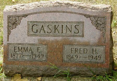 GASKINS, FRED H. - Black Hawk County, Iowa | FRED H. GASKINS