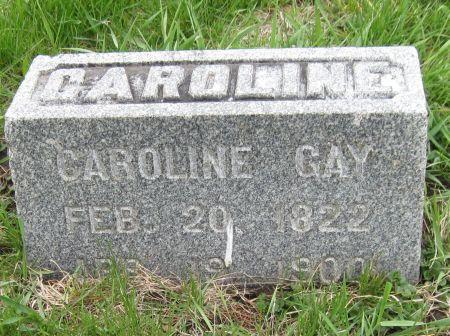 GAY, CAROLINE - Black Hawk County, Iowa | CAROLINE GAY