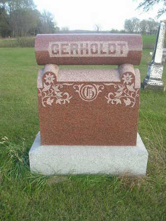 GERHOLDT, MOTHER FATHER - Black Hawk County, Iowa | MOTHER FATHER GERHOLDT
