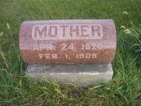 GERHOLDT, MOTHER - Black Hawk County, Iowa | MOTHER GERHOLDT