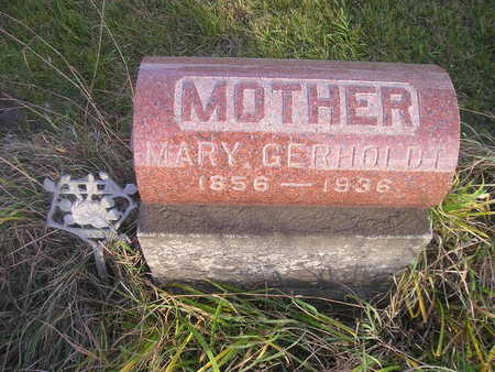 GERHOLT, MARY - Black Hawk County, Iowa | MARY GERHOLT