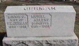 GERMAN, MURIEL ARLENE - Black Hawk County, Iowa | MURIEL ARLENE GERMAN