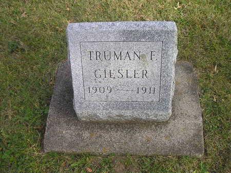 GIESLER, TRUMAN F - Black Hawk County, Iowa | TRUMAN F GIESLER