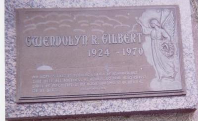 GILBERT, GWENDOLYN R. - Black Hawk County, Iowa | GWENDOLYN R. GILBERT