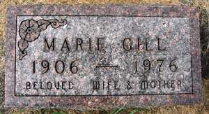 GILL, MARIE - Black Hawk County, Iowa | MARIE GILL