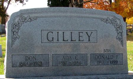 GILLEY, ADA C. - Black Hawk County, Iowa | ADA C. GILLEY