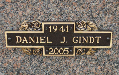 GINDT, DANIEL J. - Black Hawk County, Iowa | DANIEL J. GINDT