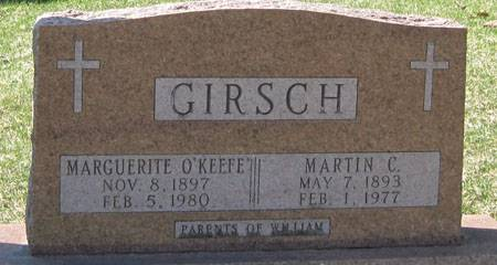 O'KEEFE GIRSCH, MARGUERITE - Black Hawk County, Iowa | MARGUERITE O'KEEFE GIRSCH