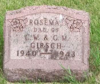 GIRSCH, ROSEMAE - Black Hawk County, Iowa | ROSEMAE GIRSCH