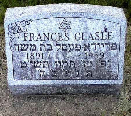 GLASLE, FRANCES - Black Hawk County, Iowa | FRANCES GLASLE