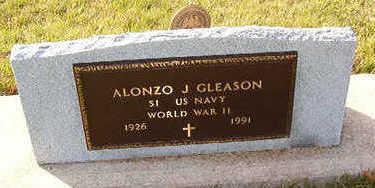 GLEASON, ALONZO J. - Black Hawk County, Iowa   ALONZO J. GLEASON