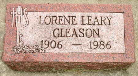 GLEASON, LORENE A. LEARY - Black Hawk County, Iowa | LORENE A. LEARY GLEASON