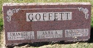GOFFETT, EMANUEL J. - Black Hawk County, Iowa   EMANUEL J. GOFFETT