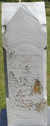 GOOD, INFANT SON OF ARMELIA - Black Hawk County, Iowa | INFANT SON OF ARMELIA GOOD