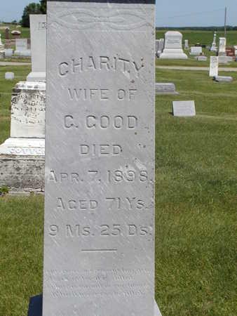 GOOD, CHARITY - Black Hawk County, Iowa | CHARITY GOOD