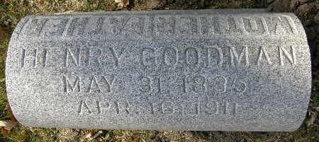 GOODMAN, HENRY - Black Hawk County, Iowa | HENRY GOODMAN