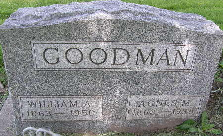 GOODMAN, WILLIAM A. - Black Hawk County, Iowa | WILLIAM A. GOODMAN