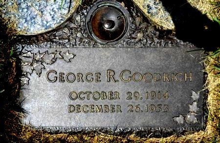 GOODRICH, GEORGE R. - Black Hawk County, Iowa | GEORGE R. GOODRICH