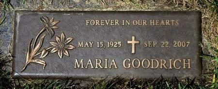 GOODRICH, MARIA - Black Hawk County, Iowa | MARIA GOODRICH