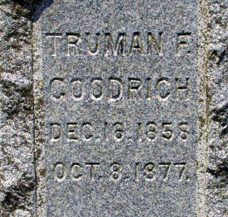 GOODRICH, TRUMAN F. - Black Hawk County, Iowa | TRUMAN F. GOODRICH