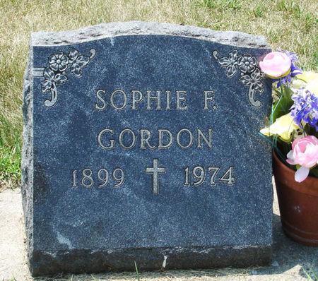 FOGARTY GORDON, SOPHIE FRANCES - Black Hawk County, Iowa | SOPHIE FRANCES FOGARTY GORDON