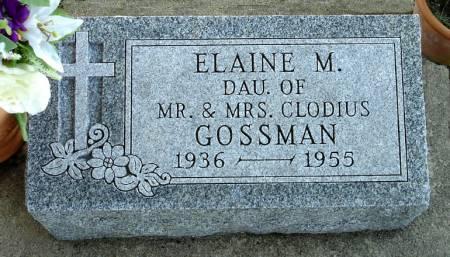 GOSSMAN, ELAINE M. - Black Hawk County, Iowa | ELAINE M. GOSSMAN