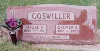GOSWILLER, HAZEL F. - Black Hawk County, Iowa | HAZEL F. GOSWILLER