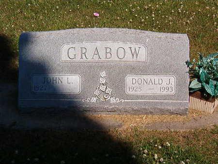 GRABOW, DONALD J. - Black Hawk County, Iowa   DONALD J. GRABOW