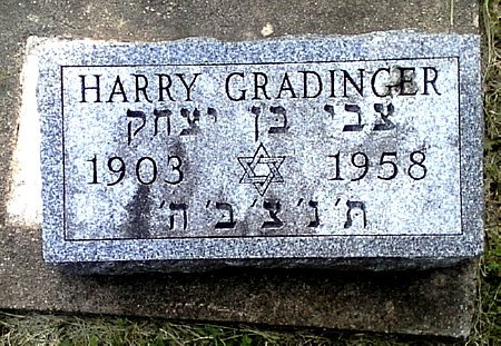 GRADINGER, HARRY - Black Hawk County, Iowa | HARRY GRADINGER