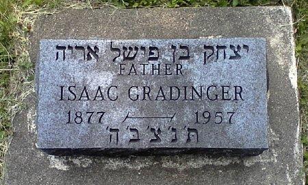 GRADINGER, ISAAC - Black Hawk County, Iowa   ISAAC GRADINGER